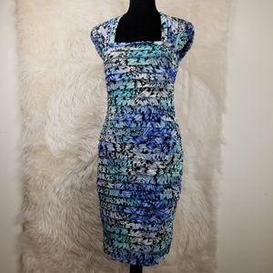 Adriana Papell Midi Dress size 8